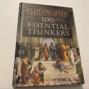 Philosophy- 100 Essential Thinkers hardcover by Phillip Stokes copyright 2010